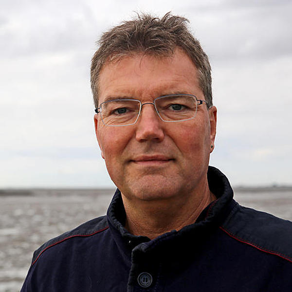 Lars Harms am Meer